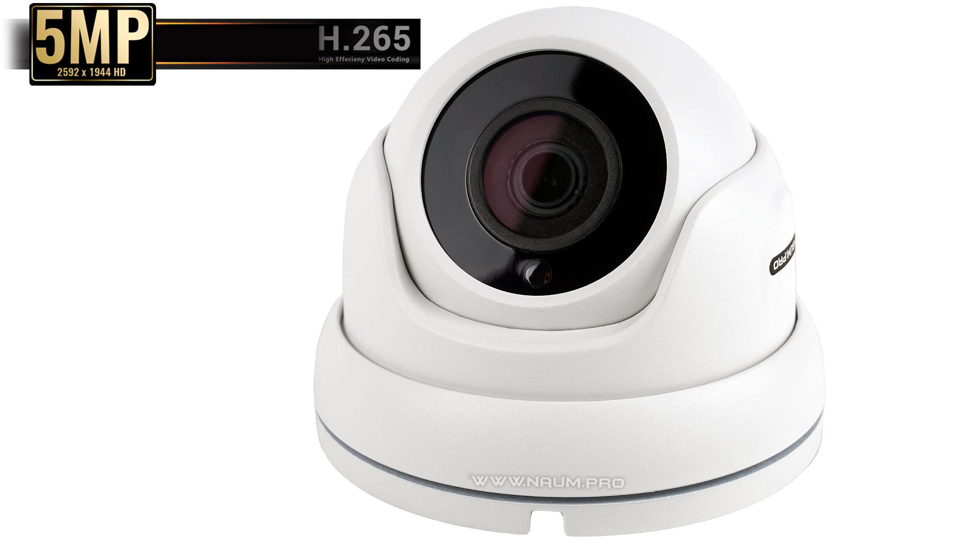 купольная IP камера для установки на улице и в помещении imx335