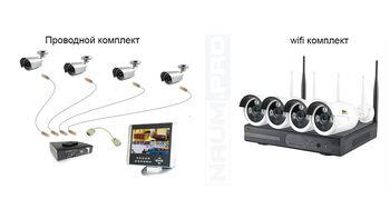 Комплект wifi видеонаблюдения купить
