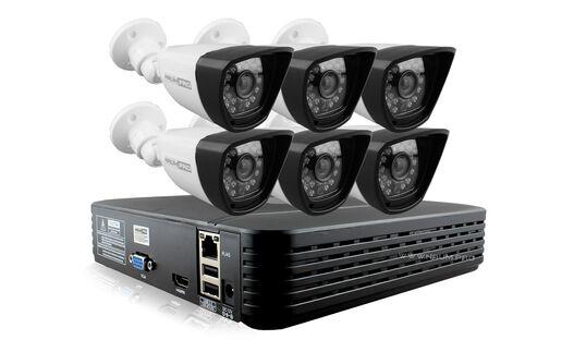 Купить Комплект видеонаблюдения 6 камер 1mp универсальный в Киеве