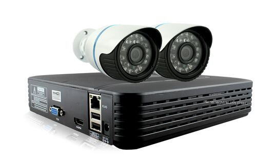 Купить Комплект видеонаблюдения 2 камеры 2mp для улицы в Киеве