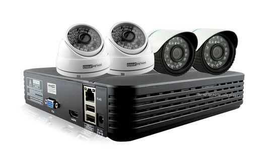 Купить Комплект видеонаблюдения 4 камеры 2mp универсальный в Киеве