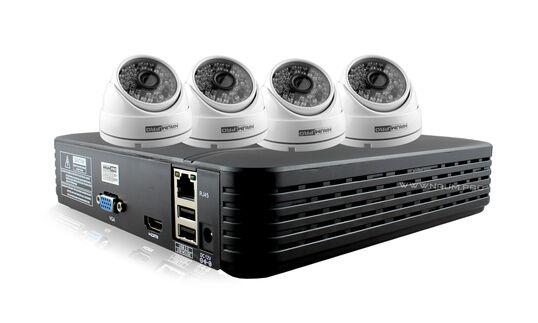 Купить Комплект видеонаблюдения 4 камеры 2mp купол в Киеве