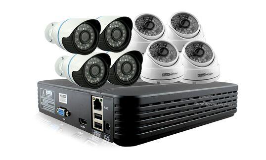 Купить Комплект видеонаблюдения 8 IP камеры 2mp универсальный в Киеве
