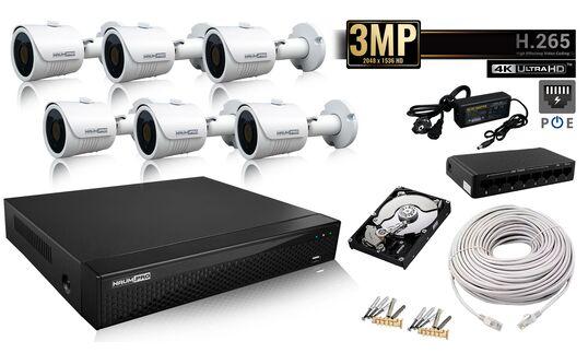 Купить Комплект IP Ultra HD 2mp  6 в Киеве