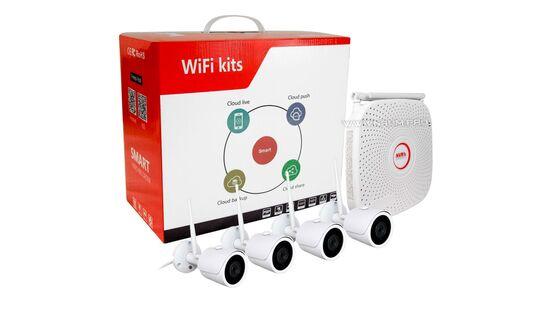 Купить WIFI комплект видеонаблюдения  Ultra HD 1х4 в Киеве