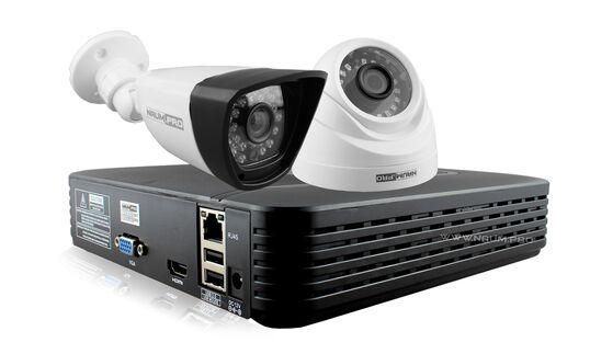 Купить Комплект видеонаблюдения 2 камеры 1.3mp универсальный в Киеве