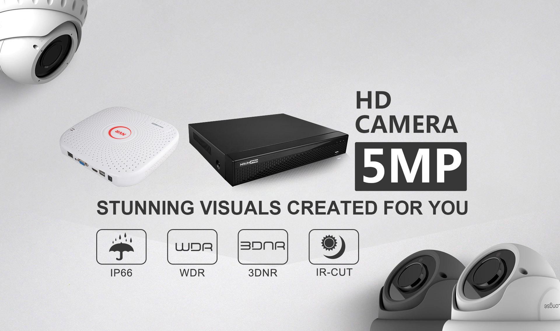 Наборы видеонаблюдения