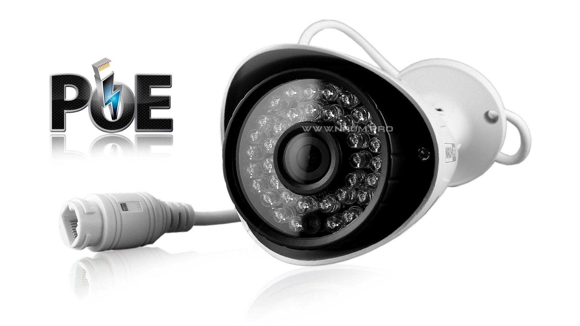IP камера питание по одному проводу POE 12 вольт