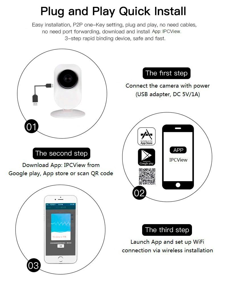 Подключение камеры к смартфону