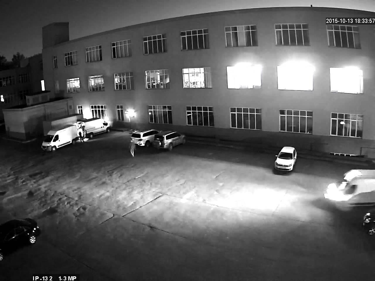 Пример ночной семки IP камеры imx130