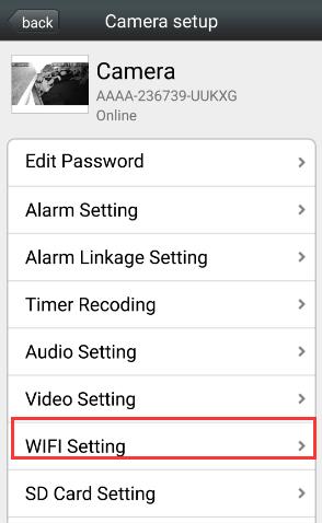 Подключаем wifi камеру через приложение camhi к телефону