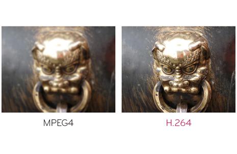 H.264 против MPEG4