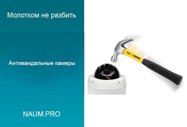 Антивандальные IP камеры Hammer R