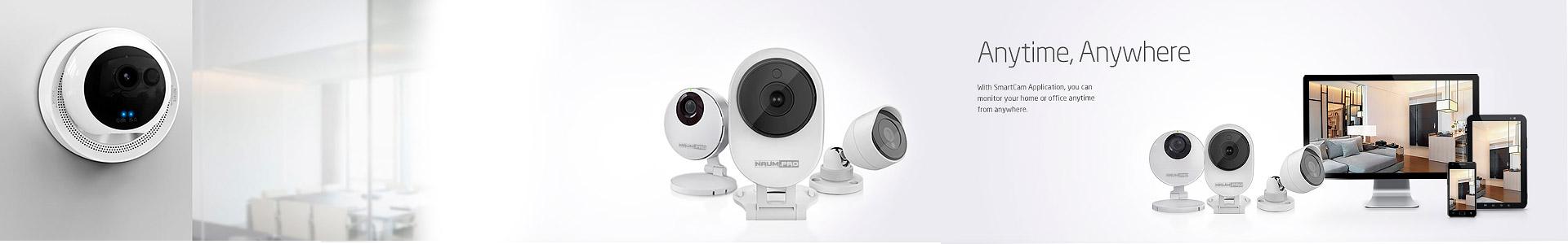 IP видеокамеры с поддержкой Wi-Fi и micro SD для дома