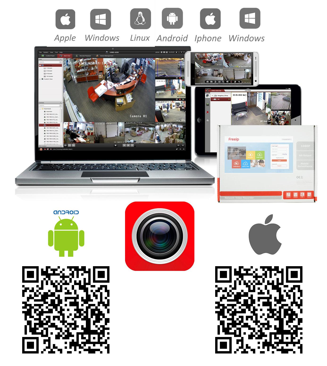 Программы для настройки камер через интернет
