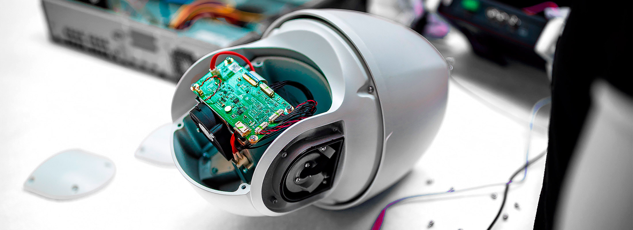 Speed Dome IP камеры для видеонаблюдения без корпуса