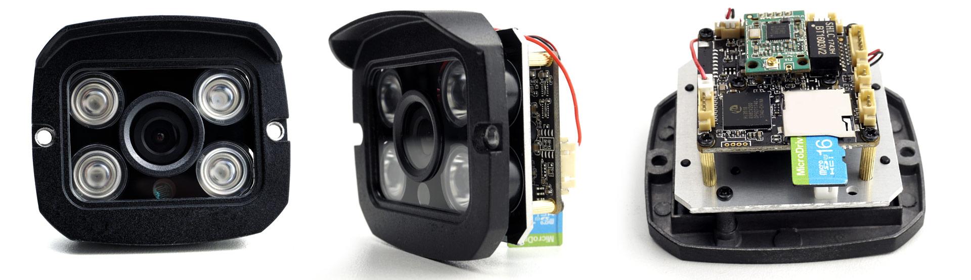 камера с поддержкой записи на карту памяти