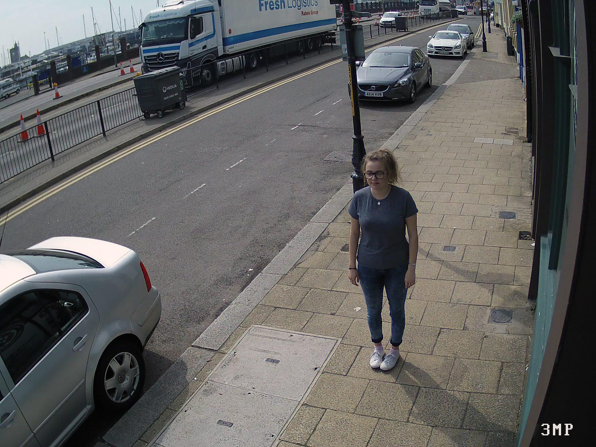IP камера 3mp пример изображения