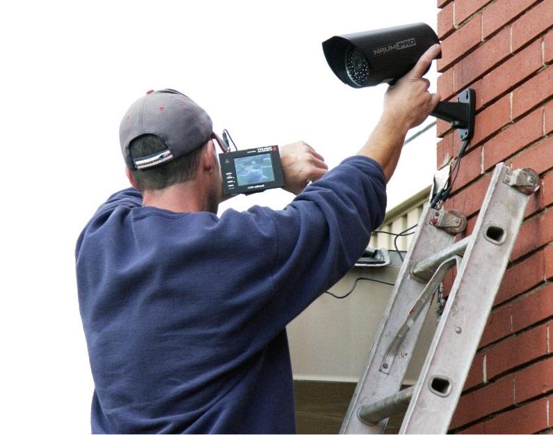Правильная установка камер видеонаблюдения