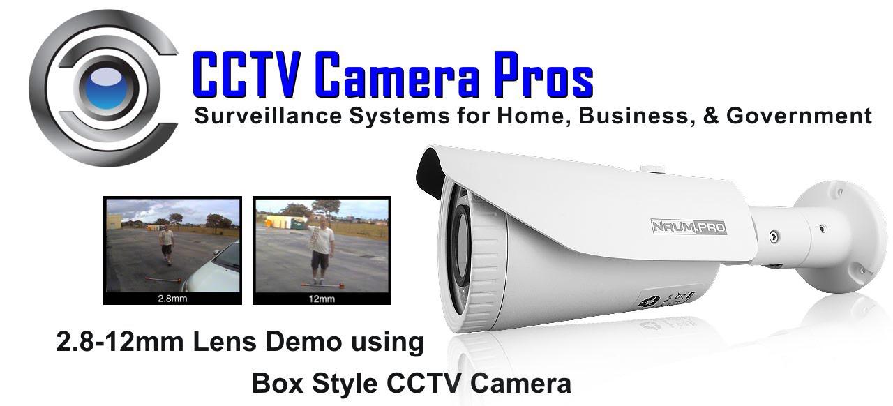 IP камера с вариофокальным объективом