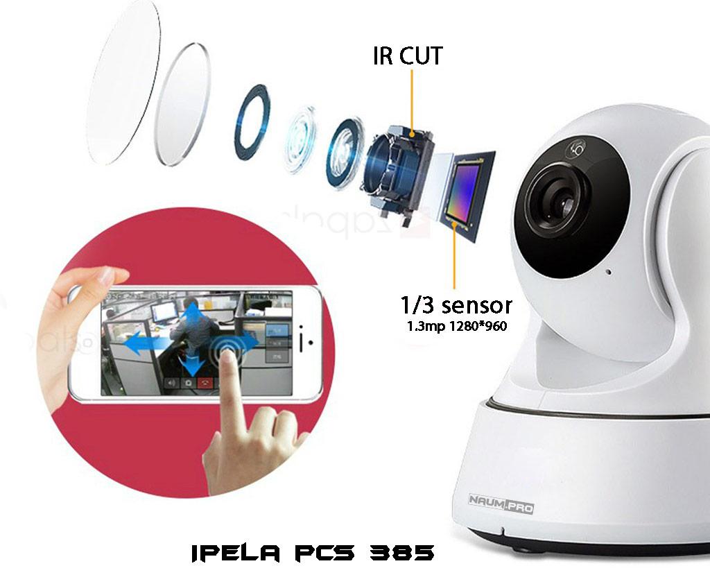 поворотная wifi камера 385