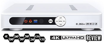 IP видеорегистраторы 4K Ultra hd NVR H265+