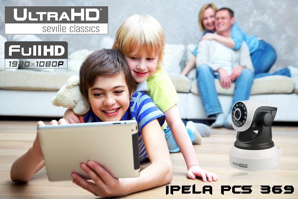 Поворотная wifi камера 2mp 1080p