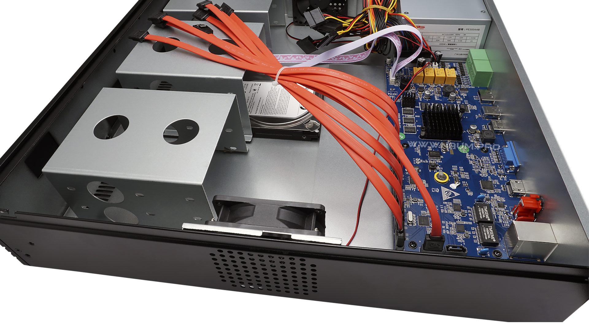 IP видеорегистратор на 64 канала